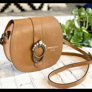 Persaman New York Gaia Leather Shoulder Bag